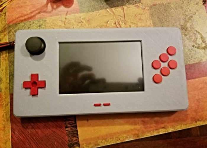 PiGear Retro DIY Handheld Games Console