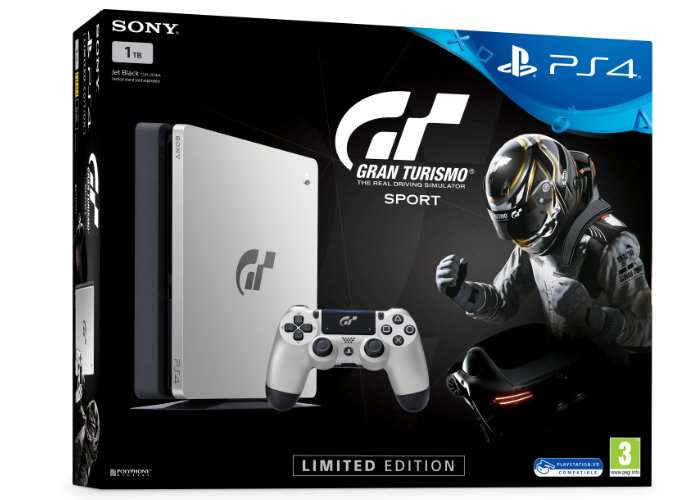 Gran Turismo Sport release gets limited edition PlayStation 4