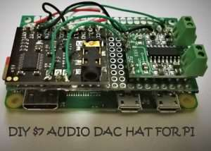 DIY Raspberry Pi DAC Audio HAT For $7 (video)