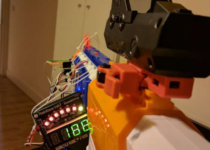 Raspberry Pi Equipped Nerf Gun
