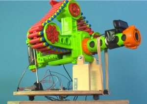 Raspberry Pi Nerf Sentry Gun Uses New n.io Platform With Facial Recognition (video)