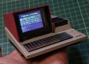Raspberry Pi Zero Powered Sharp MZ-80K Miniature PC