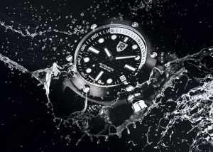 Rebel Aquafin Dive Watch (video)