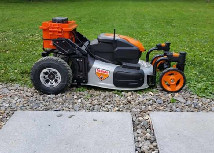 Remote Controlled Lawn Mower