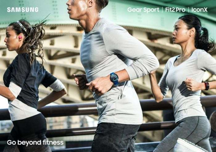 Samsung Introduces New Fitness Products