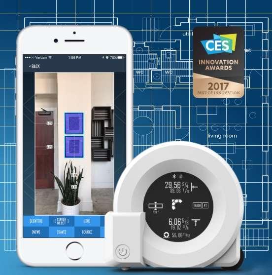 Cubit Smart Dual Laser Measuring Tool
