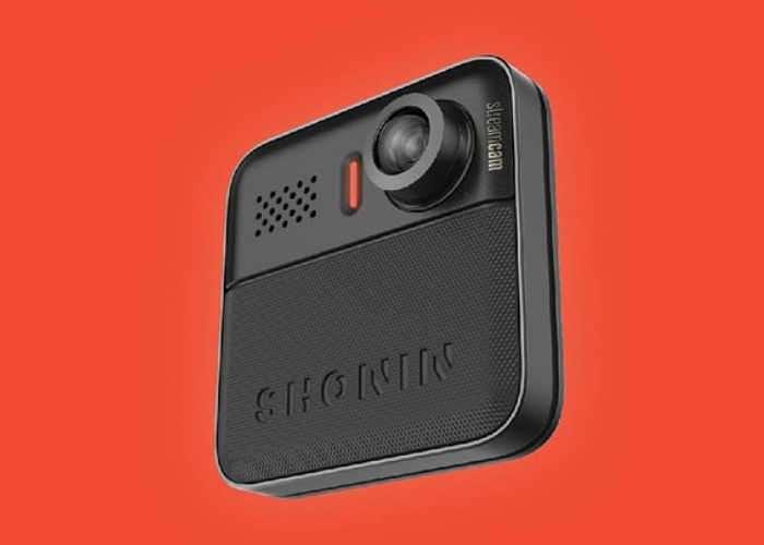 Shonin Streamcam Wearable Cloud Camera