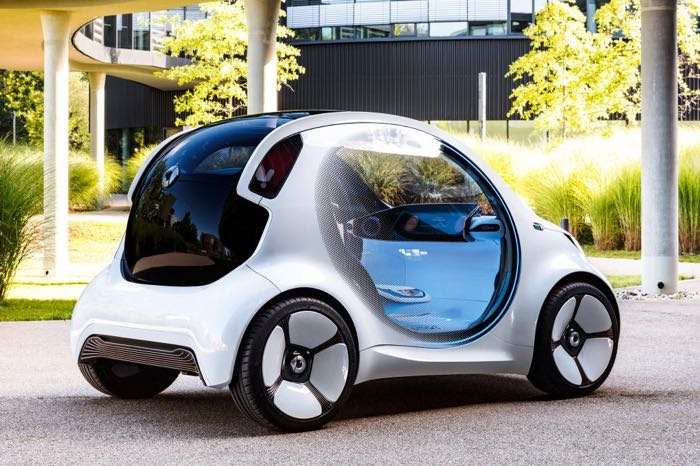 Smart Vision EQ ForTwo Concept Car Unveiled