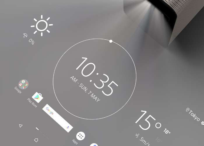 Sony Mobile Xperia Touch Projector