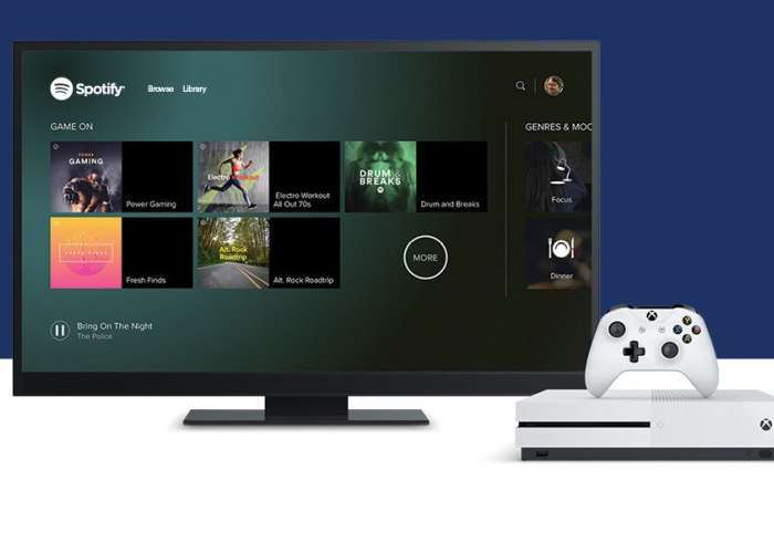 Spotify Launches On Xbox One