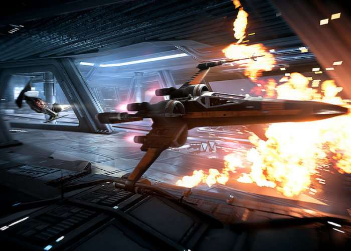 Star Wars Battlefront II Starfighter Assault Mode
