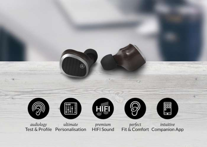 Swiss Audio Personalised Wireless Earbuds