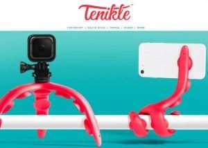 Tenikle Camera And Smartphone Camera Mount (video)