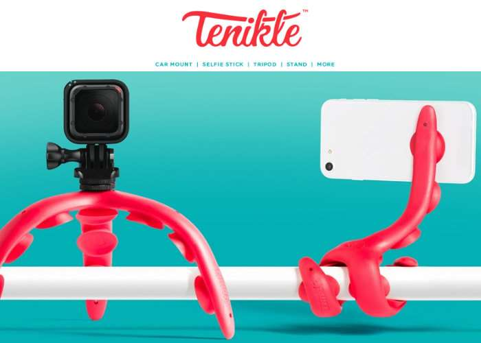 Tenikle Camera And Smartphone Camera Mount