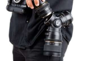 TriLens Keeps Your Camera Lenses Close (video)