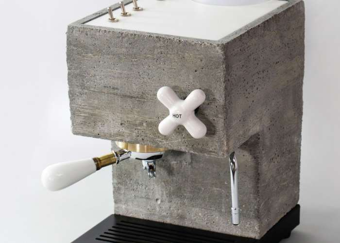 Unique AnZa Concrete Espresso Machine