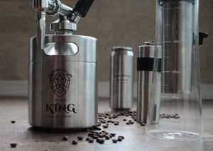 Unique Nitro Cold Creamy Coffee Brewing Machine (video)