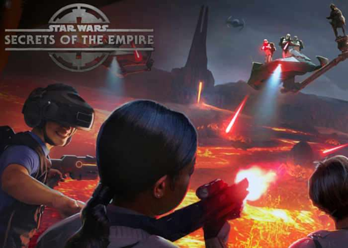 VR Star Wars Secrets of the Empire Experience