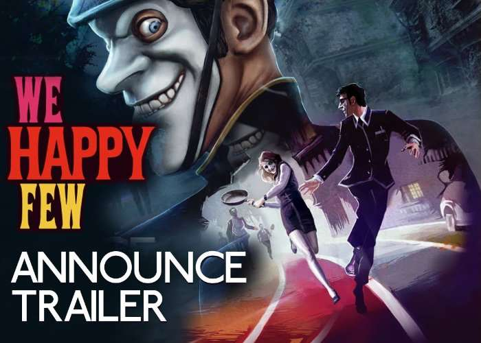 We Happy Few due out on April 18, 2018