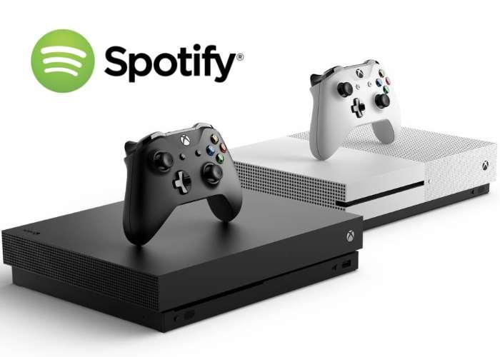 Xbox Spotify App