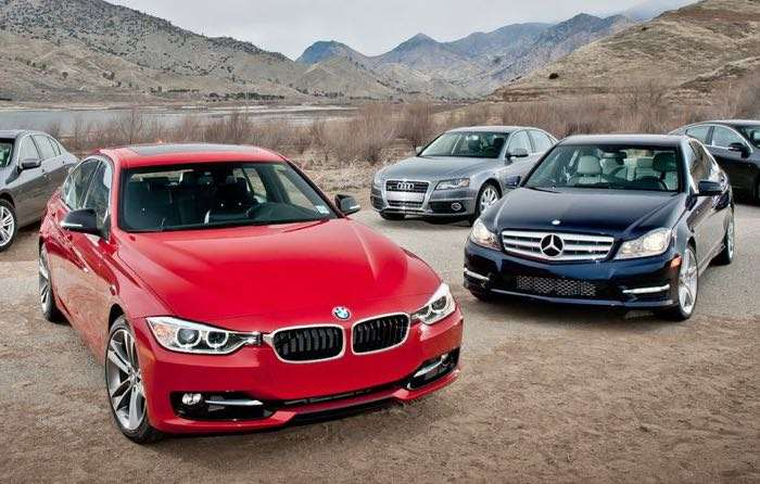 Mercedes, BMW And VW