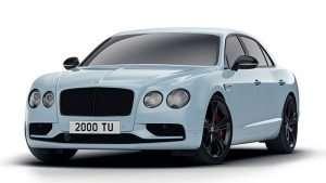 Bentley Flying Spur V8 S Black Edition Debuts