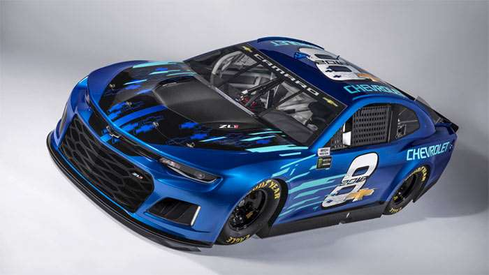 Chevrolet Monster Energy Series Race Car Unveiled
