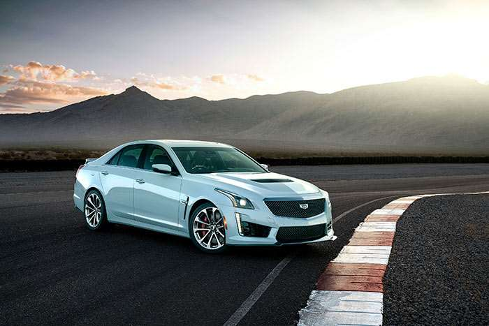 Cadillac CTS-V Glacier Metallic Edition Celebrates Brand's 115th Birthday