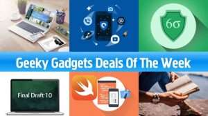 Geeky Gadgets Deals of The Week, August 19th 2017