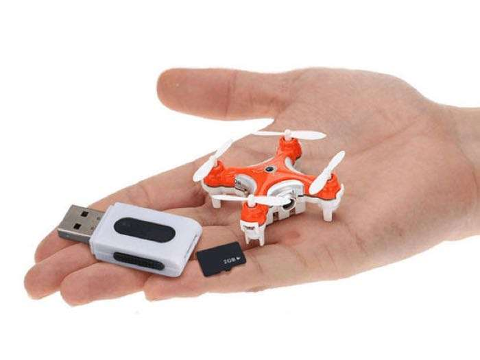 World S Smallest Camera Drone 2gb Micro Sd Card Save 50