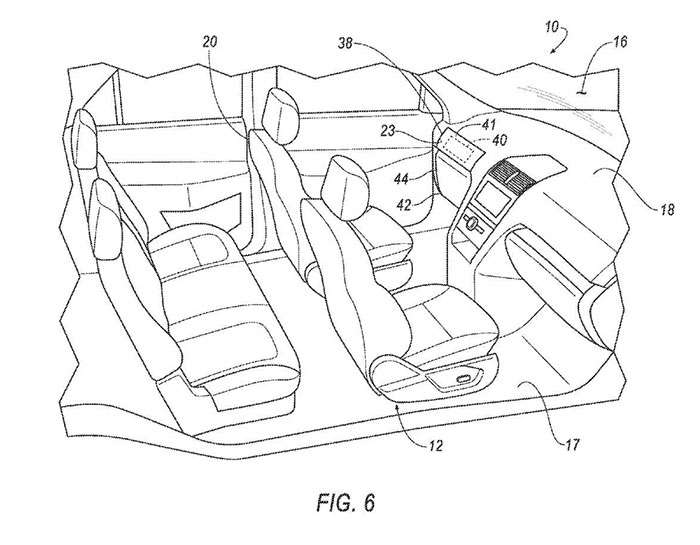 ford patent shows autonomous car with optional steering wheel