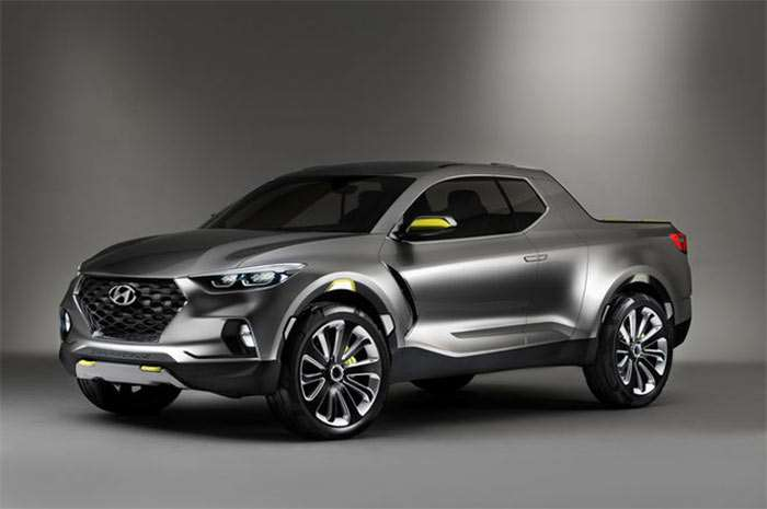 Hyundai Truck Based on Santa Cruz Concept Bound for US