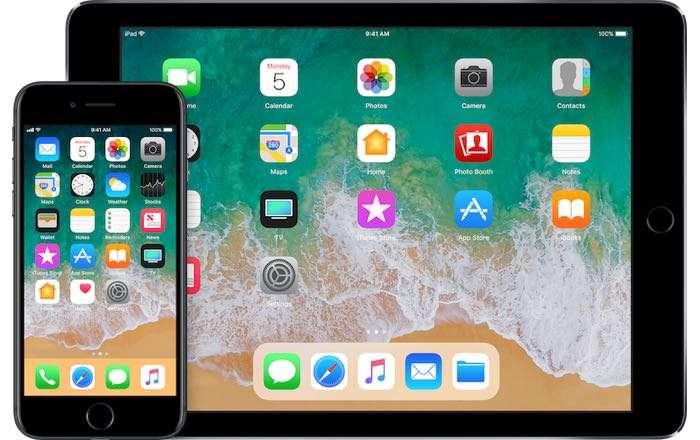iOS 10.3.3 vs iOS 11 Beta 7