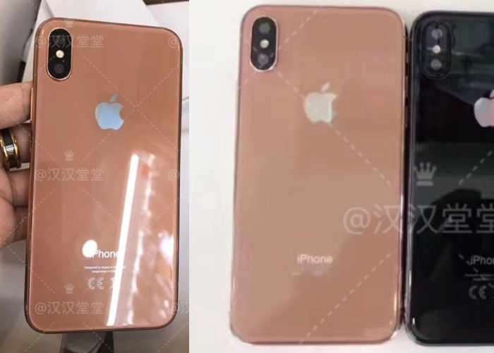iPhone 8 Copper Gold Case