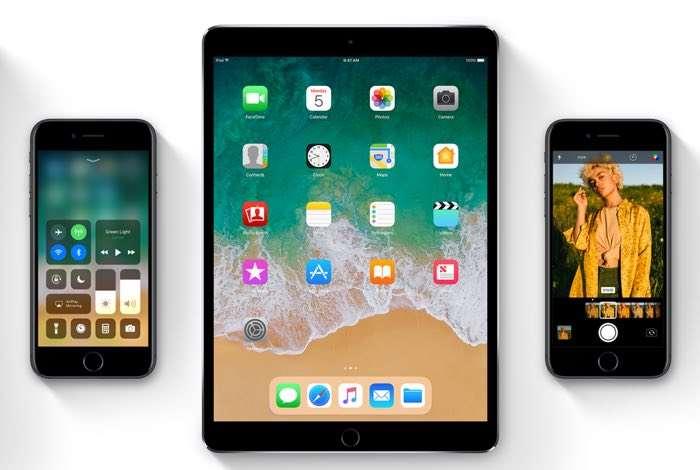 iOS 10.3.3 vs iOS 11