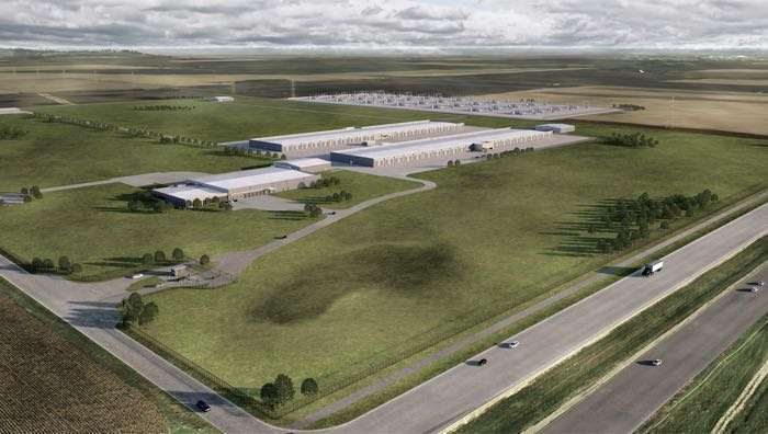 Apple US Data Center Iowa