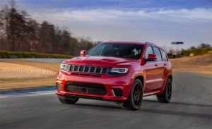 Jeep Grand Cherokee Trackhawk Starts at $86,995