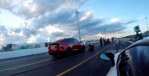 Tesla Model X Beats Lamborghini Aventador SV in Drag Race