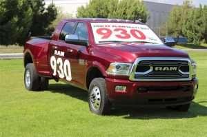 2018 Ram 3500 Has 930 LB-FT Torque