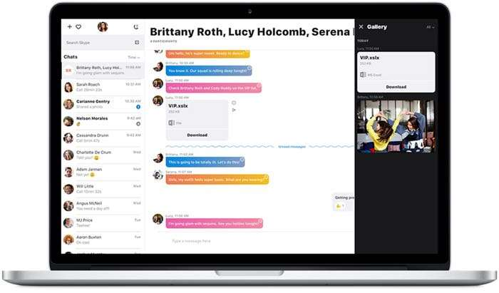 Skype Preview for Mac rolling out with mentions, improved group calls & more