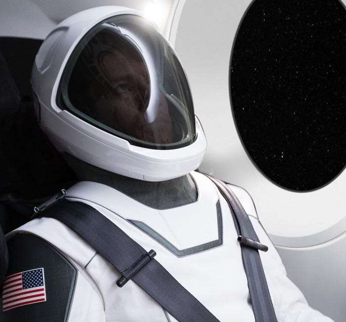 Space X Spacesuit