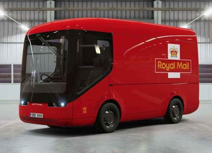 Royal Mail testing electric vans