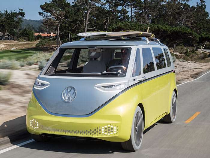 Confirmed: electric VW Microbus minivan due 2022, based on ID Buzz