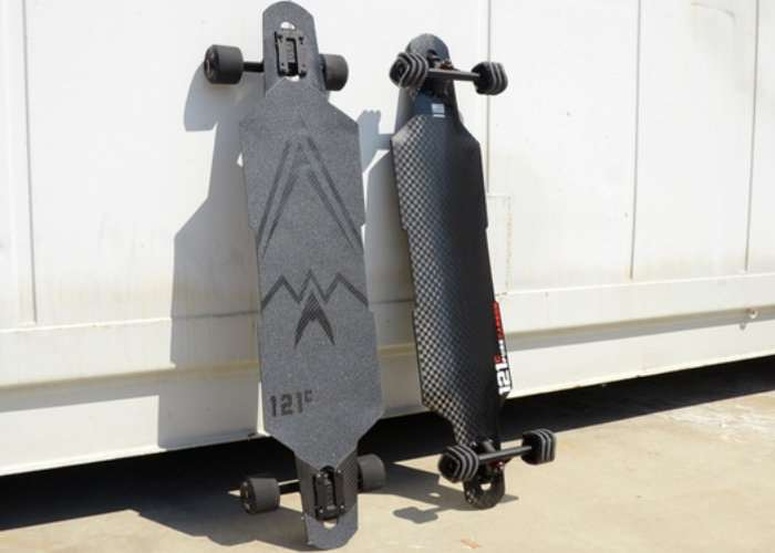 121C Boards Longboard Created From Recycled Carbon Fiber