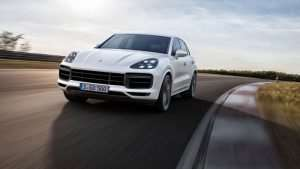 New Porsche Cayenne Turbo Launched At Frankfurt Motor Show