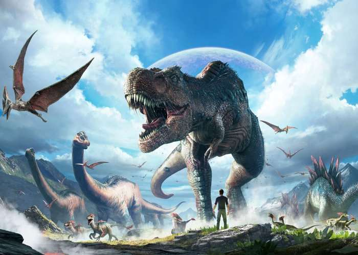 ARK Park Launches On PlayStation VR