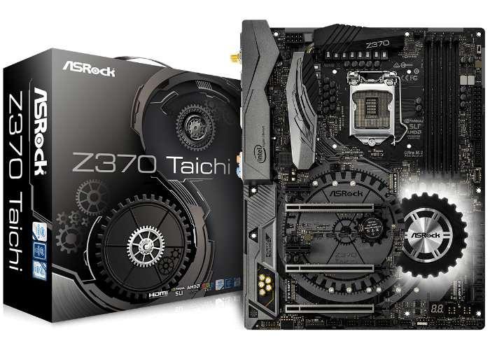 ASRock Z370 Chipset Motherboard