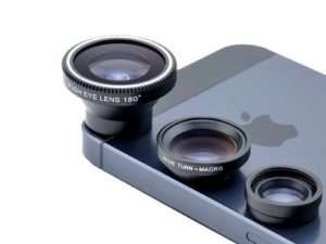 Save 85% On The Acesori 5 Piece Smartphone Camera Lens Kit 2- Pack