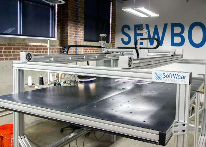 Automated Sewing CNC Machine
