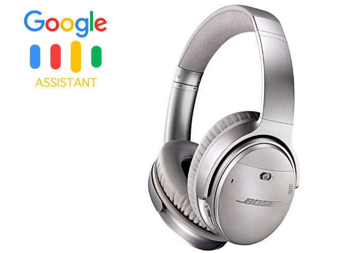 Google Assistant Enabled Headphones, Bose QuietComfort 35 II Spotted